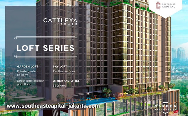 LOFT SERIES Apartemen Southeast Capital - Tower Cattleya