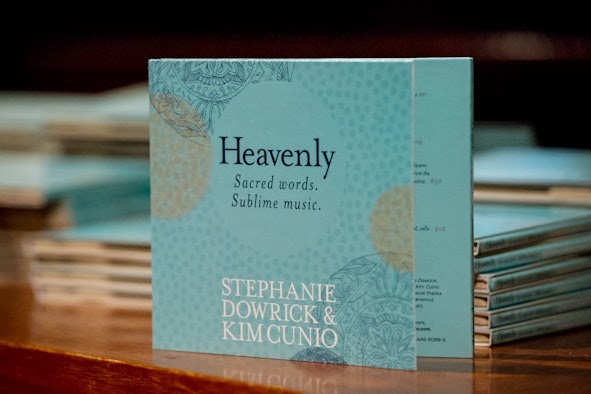 """Heavenly"" serenity in words and music"
