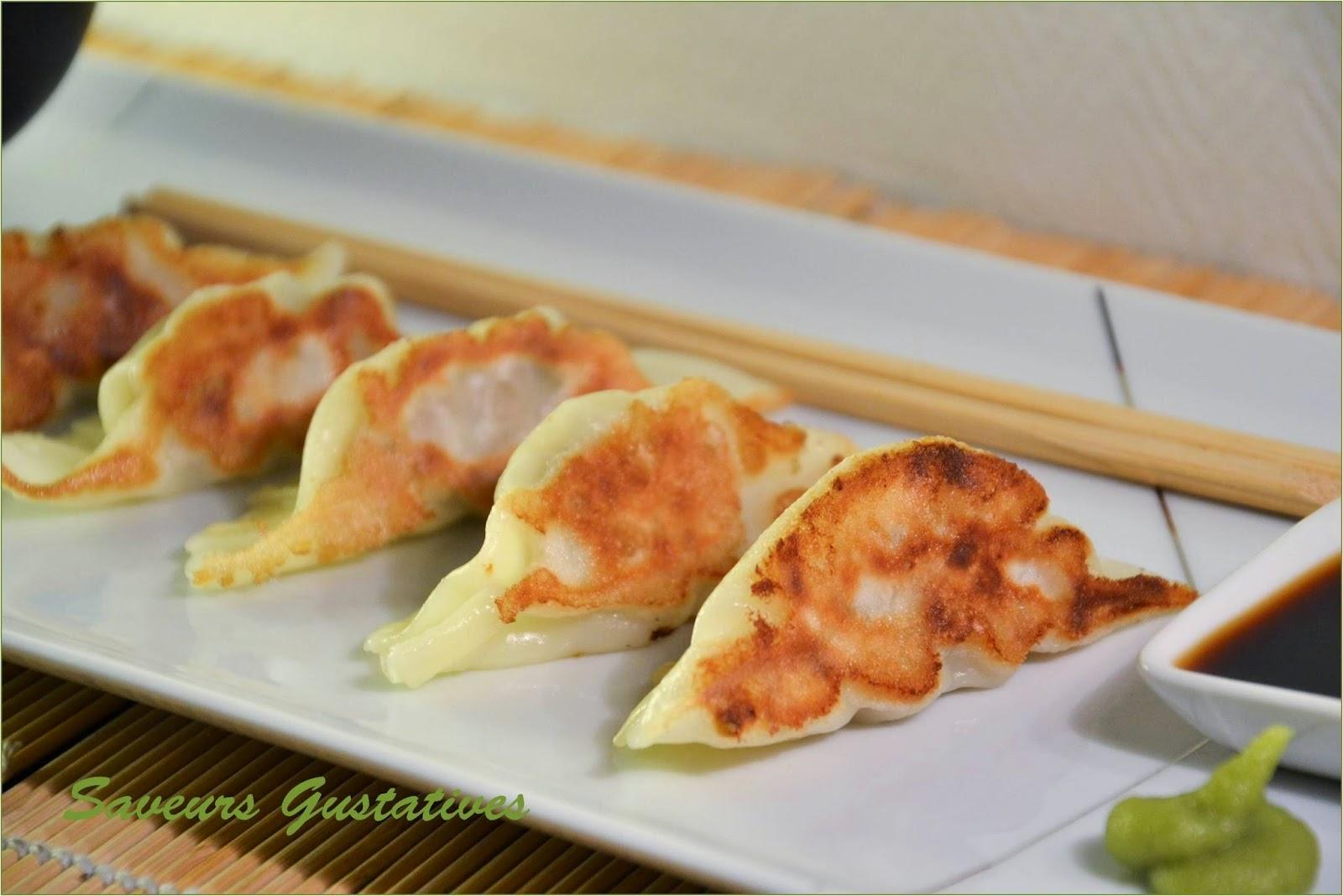 ravioli japonais au porc
