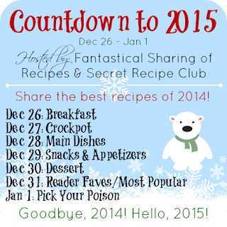 Join in on the Countdown to 2015 to share the best recipes of 2014 from your blog! #recipes #blogfun #2015