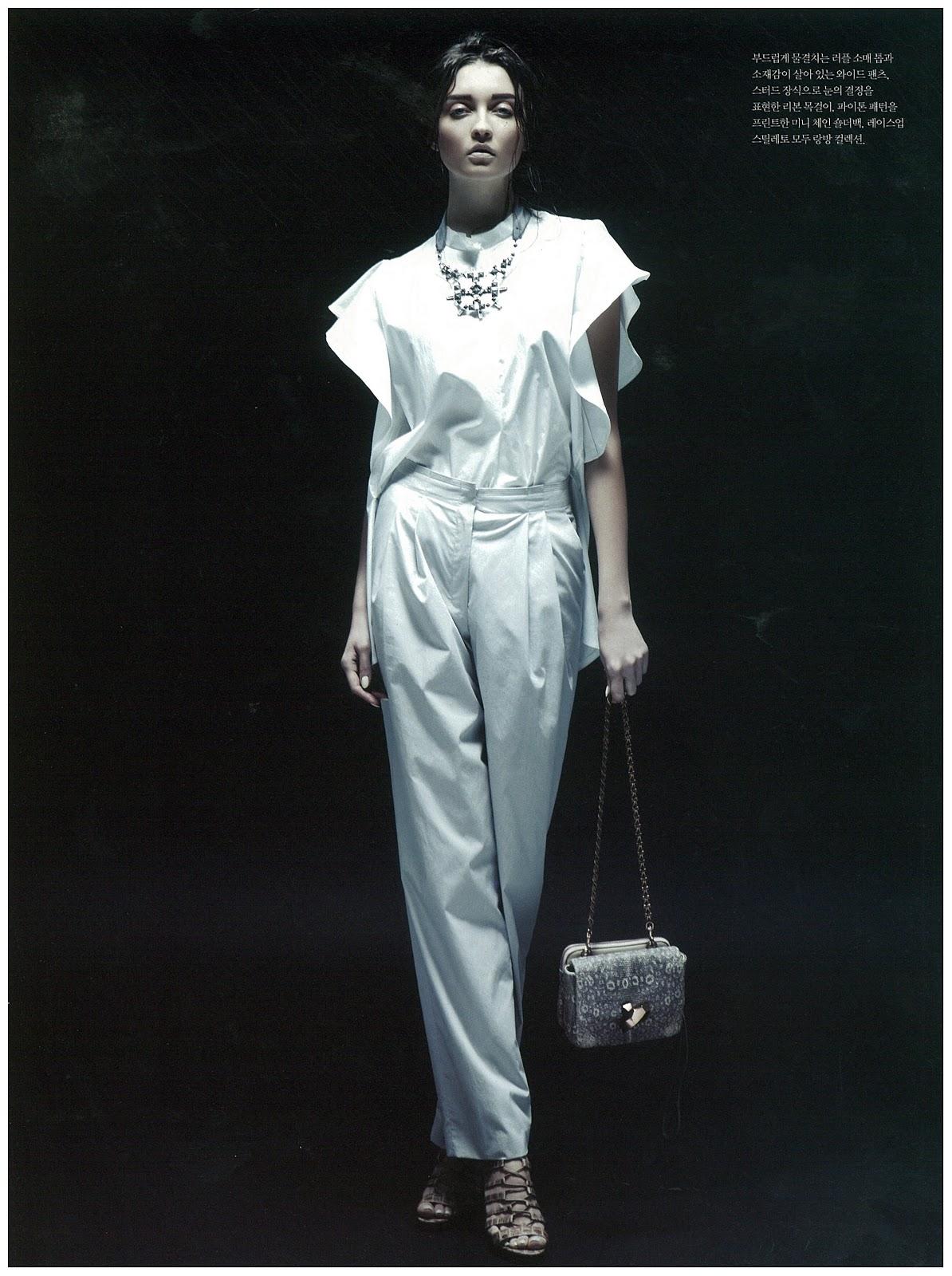 Irina gorban fashion spot