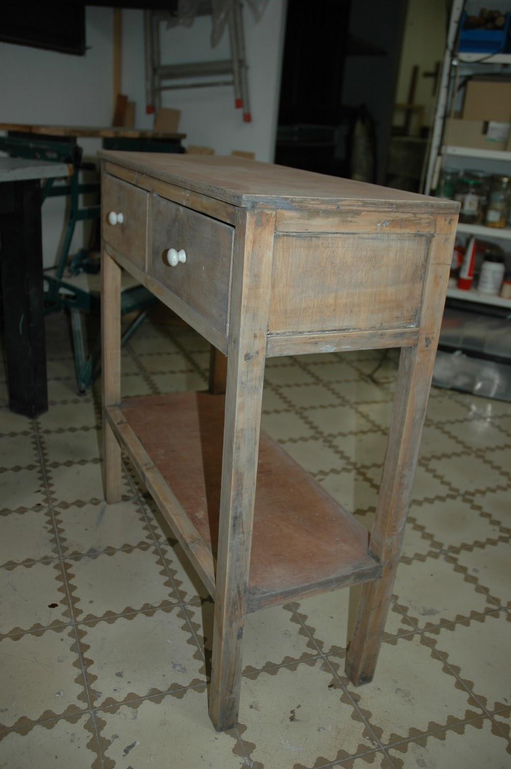 Mi las mobles outlet taula de rebedor per pintar - Mobles vintage barcelona ...