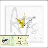 Digital Stamp Crown