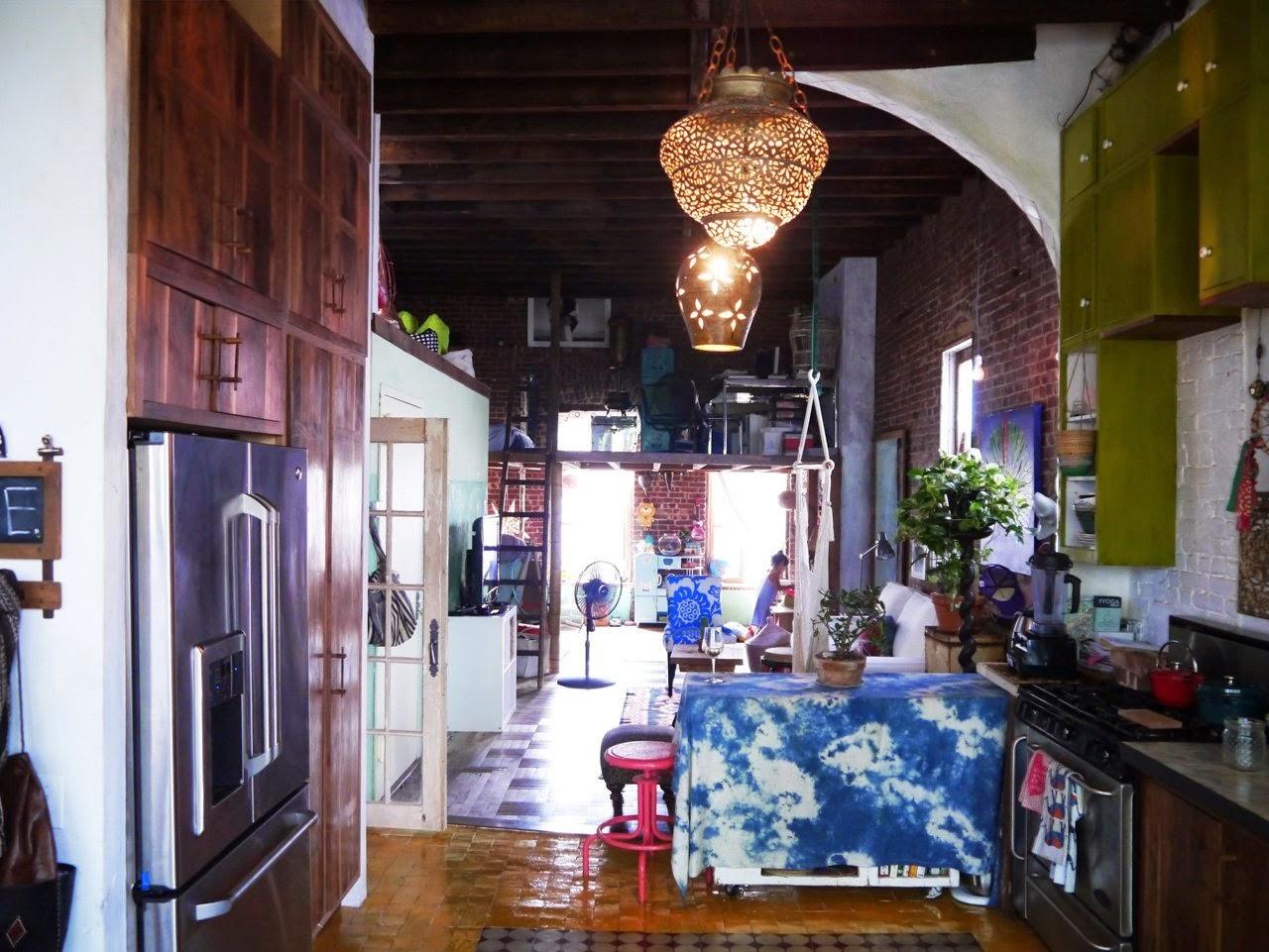 Eclectic+brooklyn+home+art+design+apartment+interior+inspiration