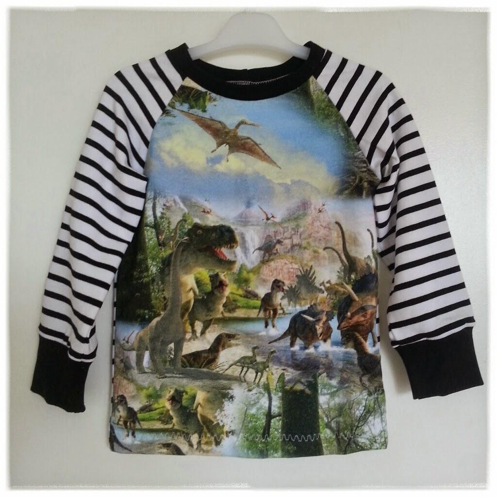 sy raglantröja unika barnkläder