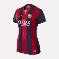 jersey ladies, grade ori, made in Thailand, tempat jual baju bola cewek, gambar jersey barcelona