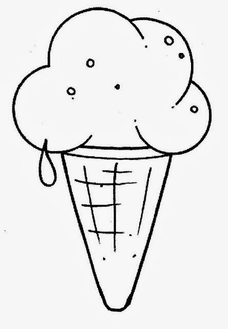 desenho de sorvete para colorir desenhos para colorir