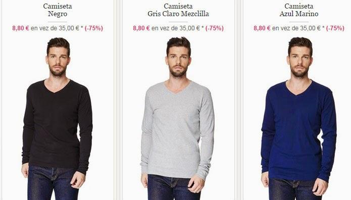 Camisetas de manga larga de Torrente por menos de 10 euros.