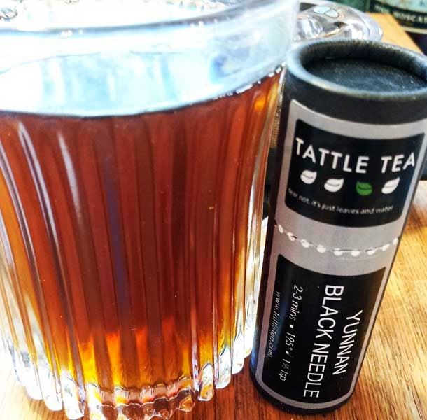 Yunnan Black Needle Tea from Tattle Tea