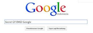 Rahasia Update EMD Google