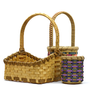 Collection of three baskets