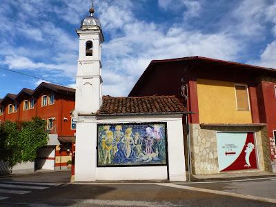 Entrance of Albergo della Ceramica