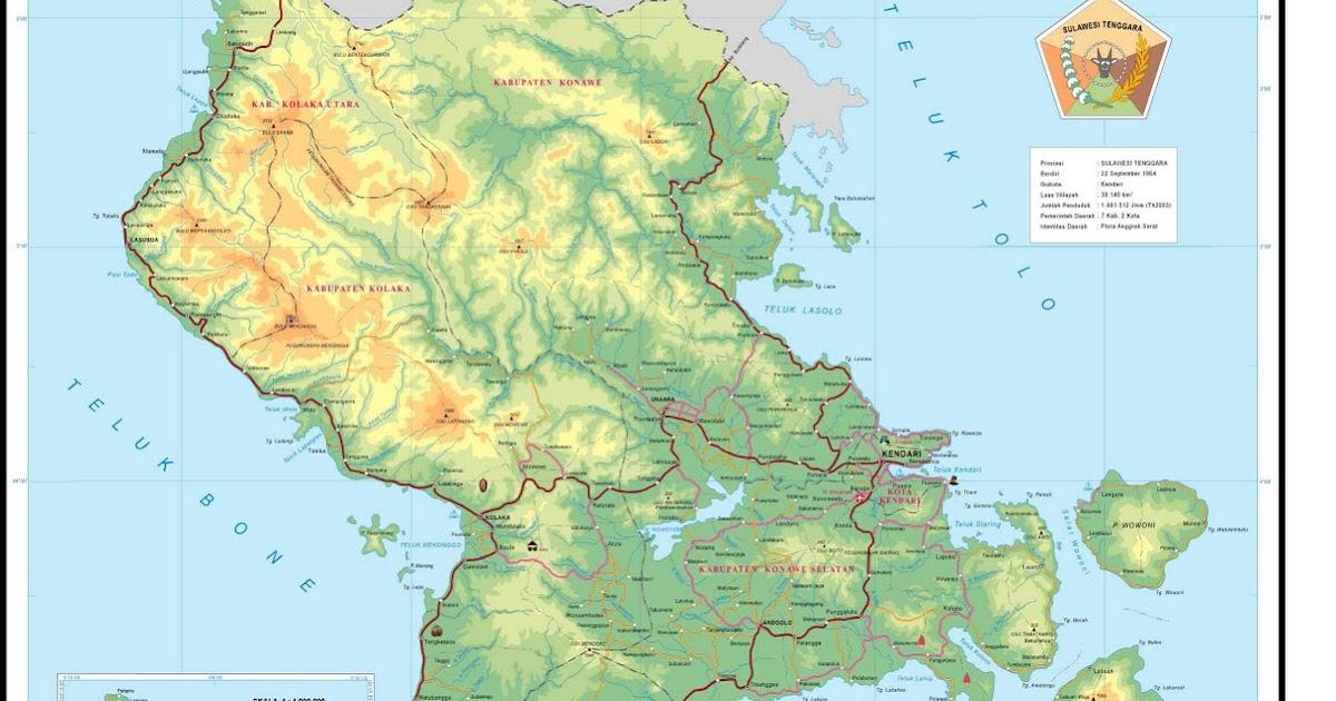 Harun Ar Mg Sakti Palembang Wwwgambar Peta Sulawesi