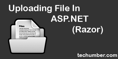 Uploading File In ASP.NET(Razor)