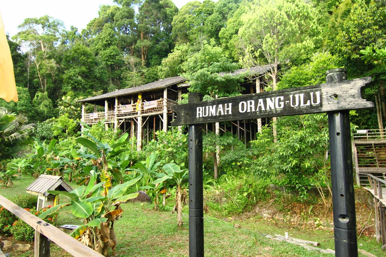 Rumah Orang Ulu Kampung Budaya Sarawak