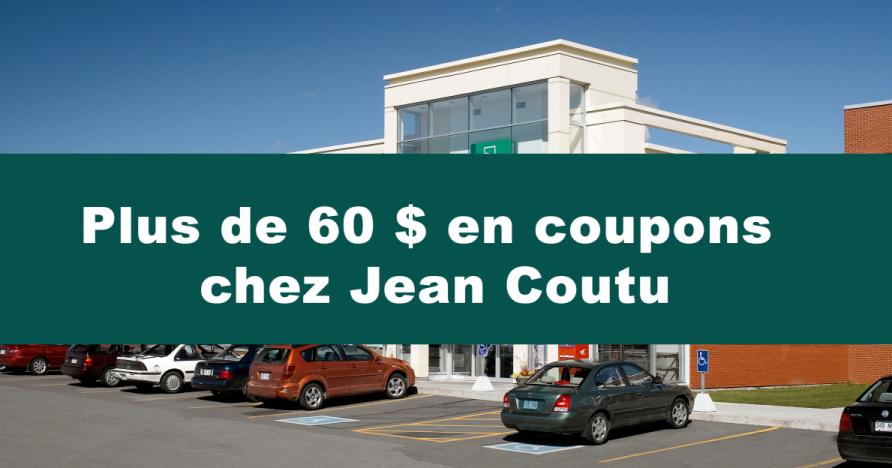 Code coupon jean coutu photo