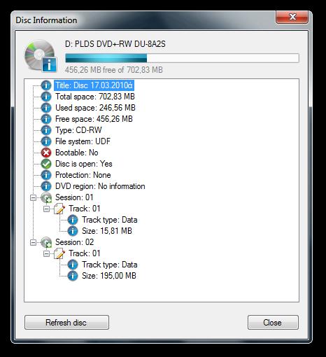 CDBurnerXP 4.5.0.3685 Multi