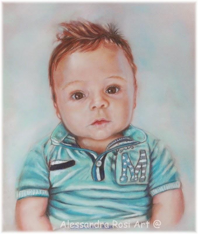 Painted children's portraits, Family portrait paintings