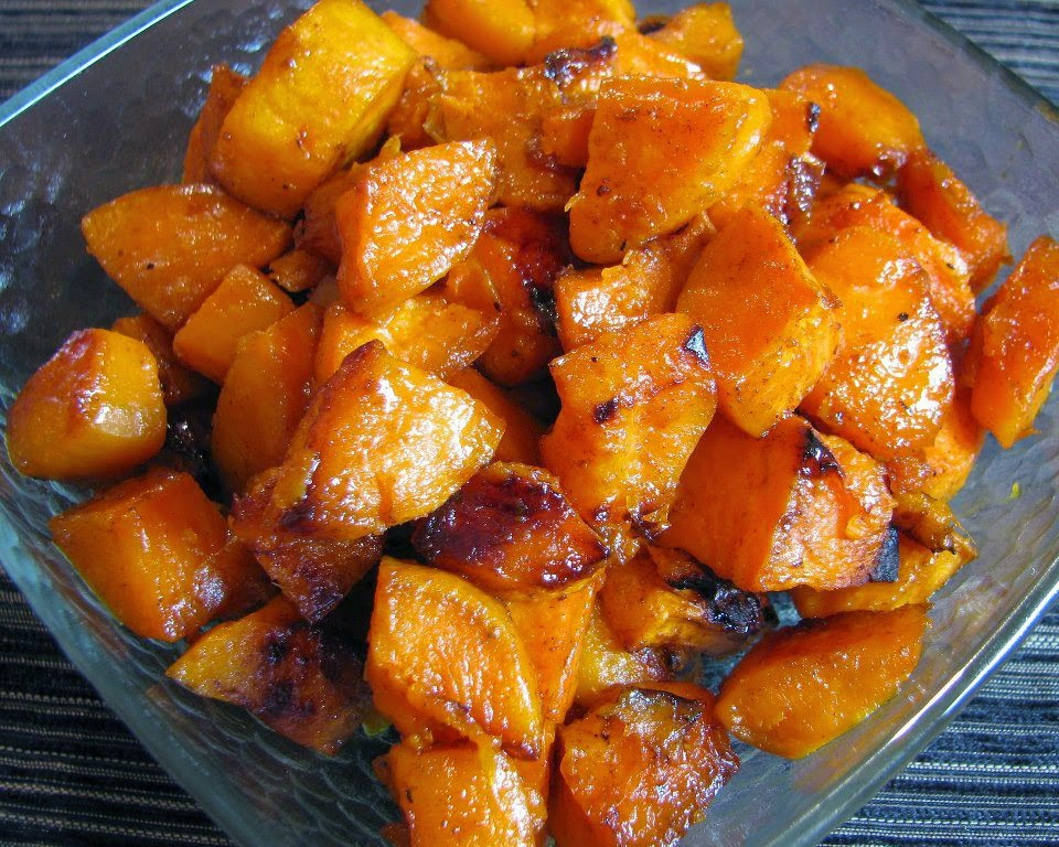 Roasted Sweet Potatoes ~ Recipe of today