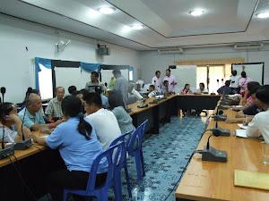 การประชุมสภาองค์กรชุมชนตำบลแม่เจดีย์ใหม่