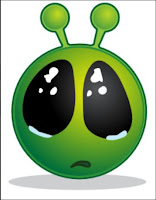 UFO Alien - Gets Sad when  Page 404'd