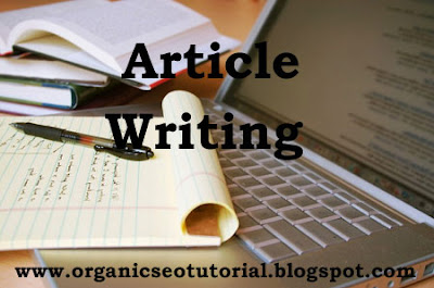 seo tutorial article writing