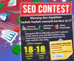 Pengumuman Pemenang Kontes SEO CariKredit.com