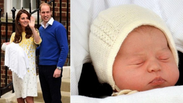 The Duke And Duchess Of Cambridge Name Their New-Born Baby Daughter Charlotte Elizabeth Diana