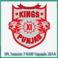 IPL 7 Kings XI Punjab Players List IPL 7 KXIP Schedule and Full Scorecards
