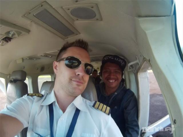 Naik Pesawat Perintis Susi Air Karimunjawa - Surabaya