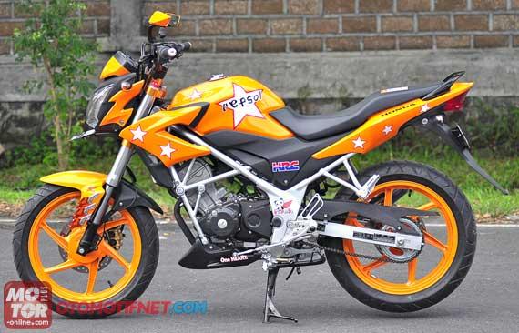 variasi Honda CB150R Streetfire