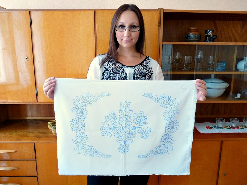 Hungarian embroidery project
