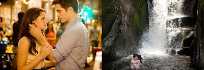 Imagen de la película Amanecer en la que aparecen Edward (Robert Pattinson) y Bella (Kristen Stewart)