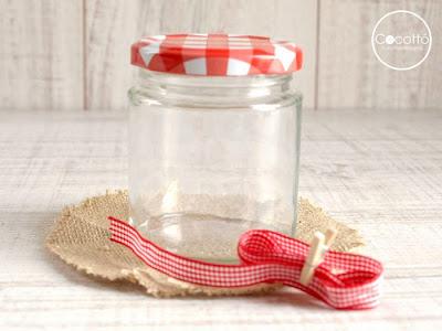 decorar tarros para mermeladas