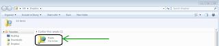 كيف تقوم برفع ملفات على موقع Dropbox