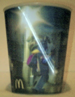 Lego Movie Happy Meal cup #3 featuring Wyldstyle