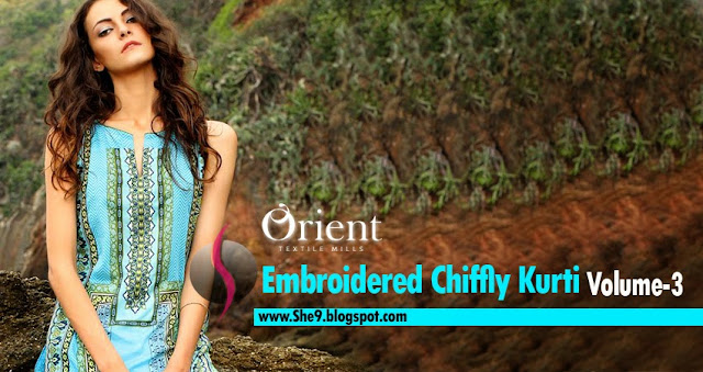 Orient - Chiffly Embroidered Kurtis