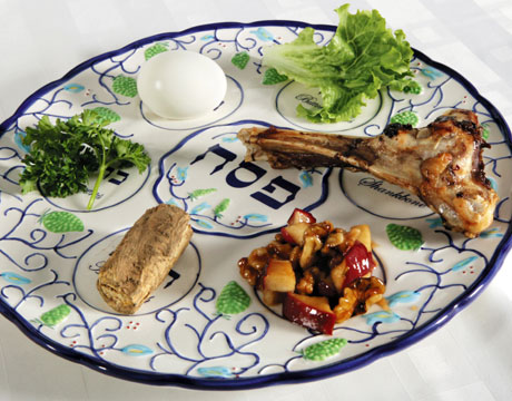 Painting jesus passover meal for Jewish fish dish