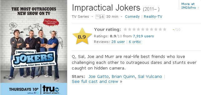 Impractical Jokers Season 1 Nonton Movies Streaming Nonton Tv