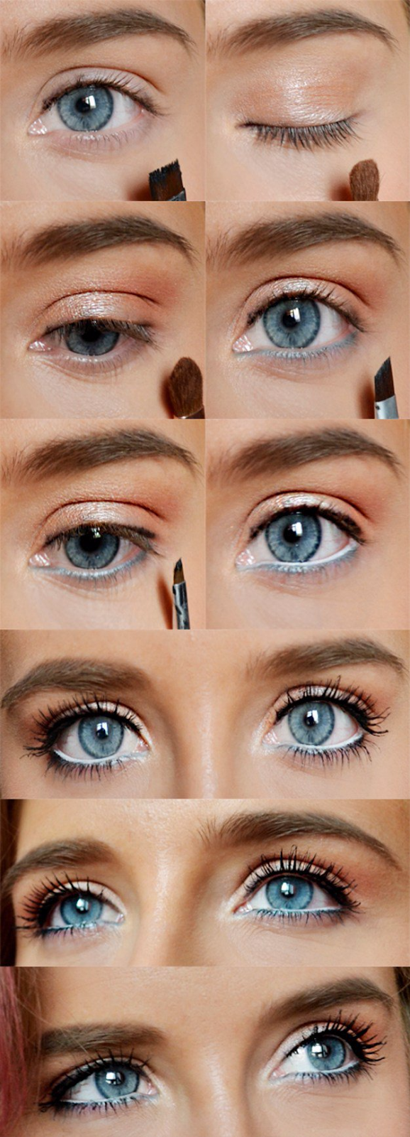 12 Makeup Tutorials for Blue Eyes