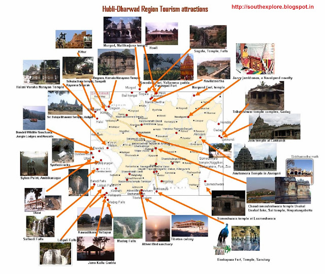 20120923 SOUTH INDIA TOURISM – India Tourist Attractions Map