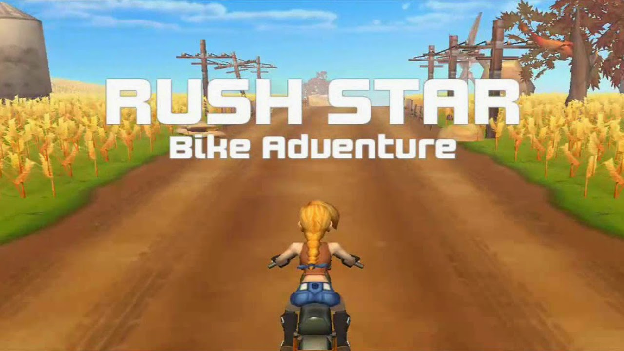 Rush Star - Bike Adventure Gameplay IOS / Android