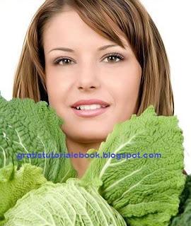 Manfaat sayur Kubis menjaga kulit muda dan sehat