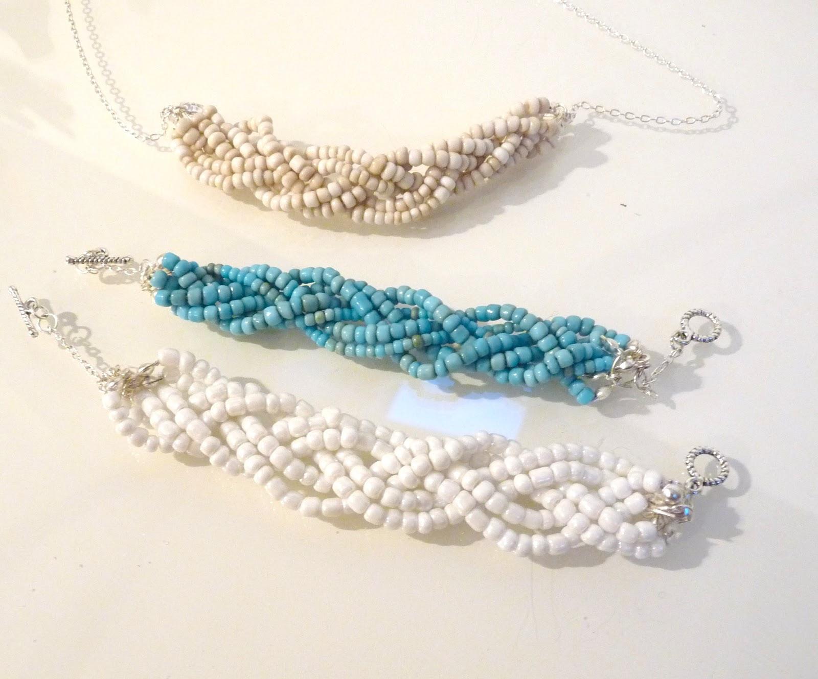 bracelet perle tresse