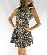 modelos de Vestidos de Onça