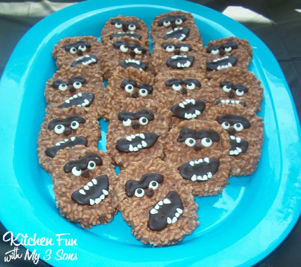 Chocolate Chewbacca Www Dunmorecandykitchen Com: Chewbacca No-Bake Cookies