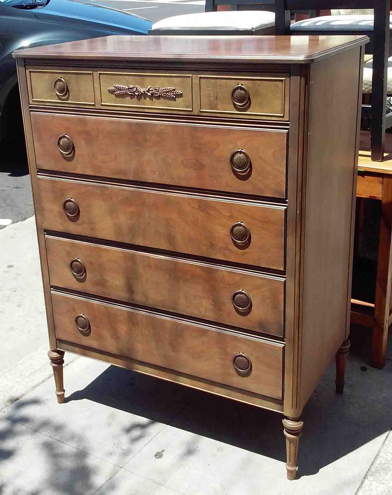 UHURU FURNITURE & COLLECTIBLES SOLD Vintage Chest of