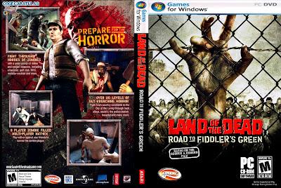 Jogo Land of the Dead Road to Fiddler's Green PC DVD Capa