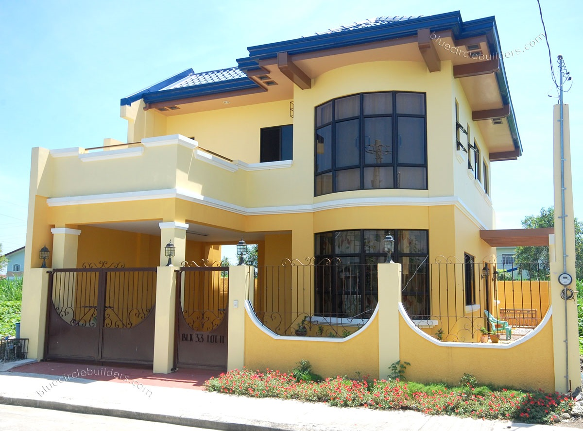 Ver fotos de casas bonitas escoja y vote por sus fotos de for House color design exterior philippines