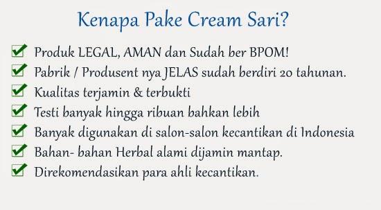 manfaat cream sari